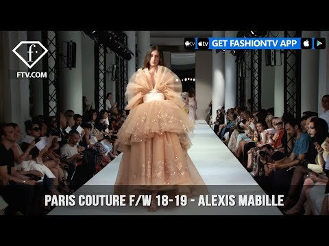 Alexis Mabille Flowers Paris Haute Couture Fall/Winter 2018-19 | FashionTV | FTV