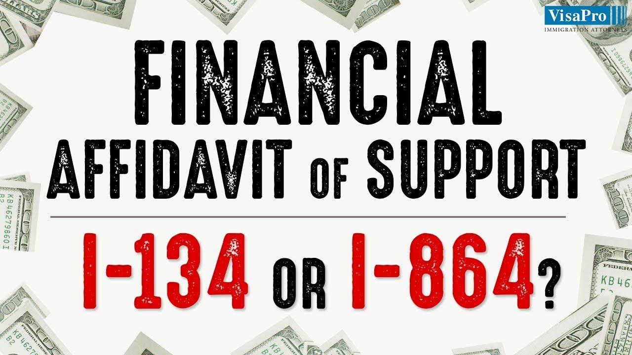 Financial affidavit of support i 134 or i 864 youtube financial affidavit of support i 134 or i 864 falaconquin