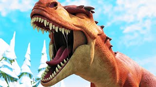 "ICE AGE: DAWN OF THE DINOSAUR Clips - ""Angry Fossil"" (2009)"