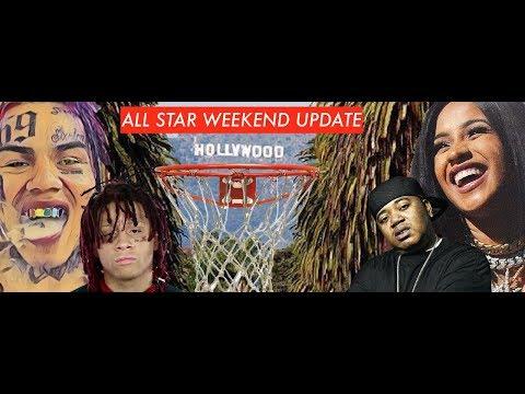 ALL STAR WEEKEND UPDATE: 6IX9INE In LA Like He's King, Twista Incident, Shows Shut Down | ALLEGEDLY