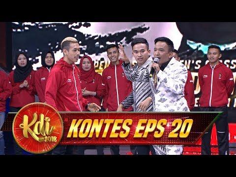 Waw! Anwar Berani Ngelawan Hanif Atlet Pencak Silat Peraih Emas - Kontes KDI Eps 20 (31/8)
