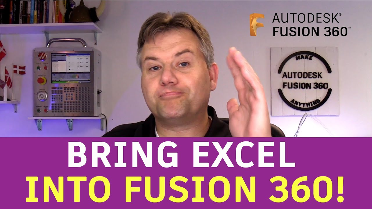 Fusion 360 — Bringing Excel into Fusion 360 — Ask LarsLive