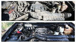Completely Filthy To Like-New Engine Cleaning on F150