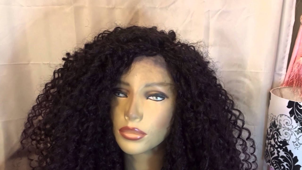 Crochet Braids On A Wig Cap : My First Crochet Braid Wig - YouTube