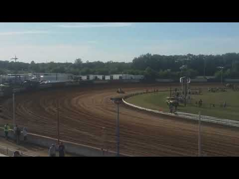 USAC Sprint Cars Hot Laps Terre Haute Action Track