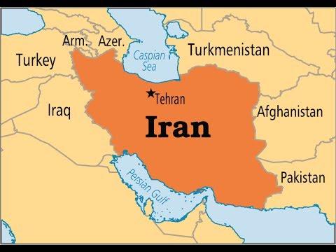 Iran von Shiraz nach Teheran .