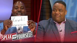 Kawhi, Steph or McCollum - Who had the most impressive weekend?   NBA   SPEAK FOR YOURSELF