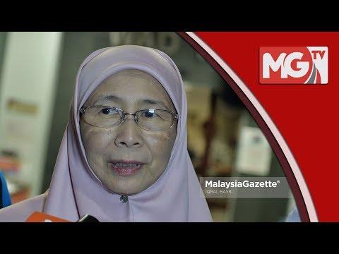 """Anwar Dibebaskan Pada Hari Rabu"" - Wan Azizah"