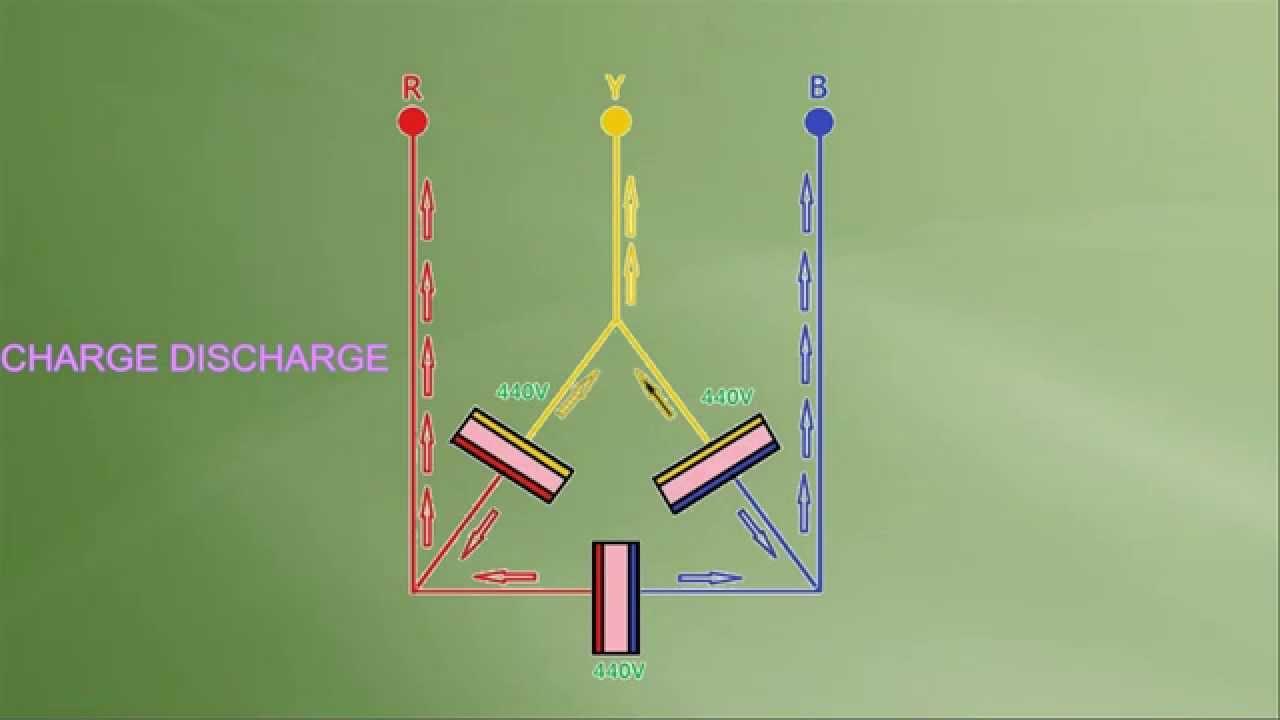 3 Phase Capacitor Bank Wiring Diagram