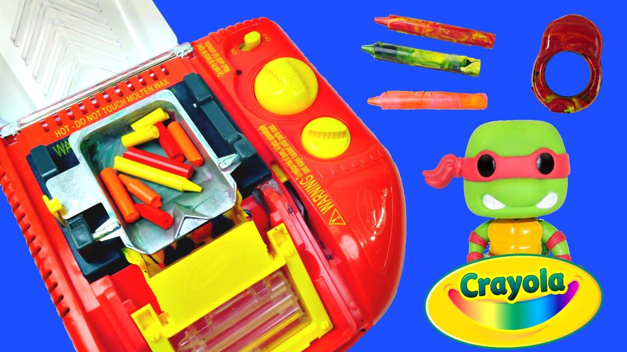 Crayon Rings Crayola Melt N Mold Factory Diy Teenage Mutant Ninja Turtles