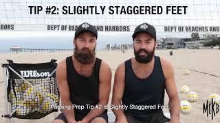 3 бомбовских совета по улучшению приема в пляжном волейболе от братьев Маккибин.