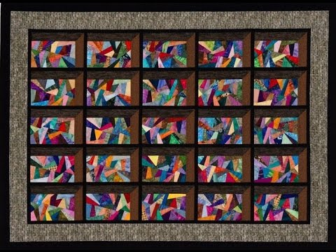 attic window quilt - YouTube : free attic window quilt pattern - Adamdwight.com