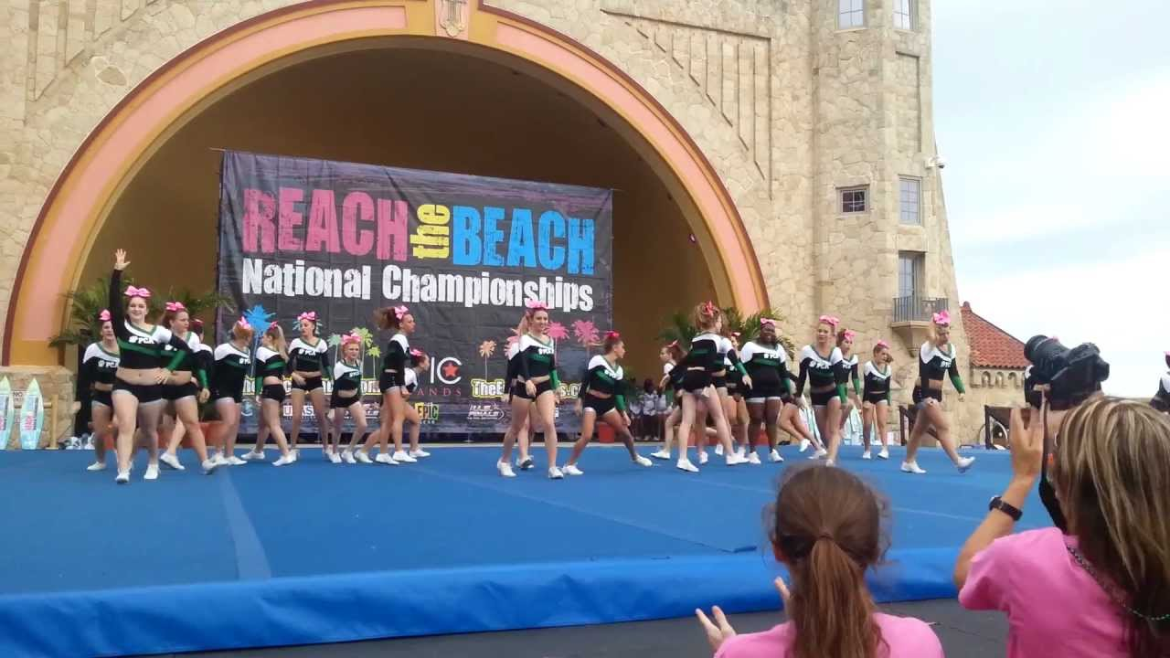 Reach The Beach Cheer Tigers