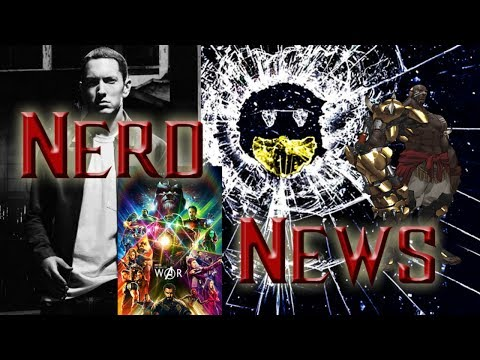 Week in Nerdom 12-4-2017 - Black Mirror, Eminem, Overwatch, Gaming Awards, and all the things