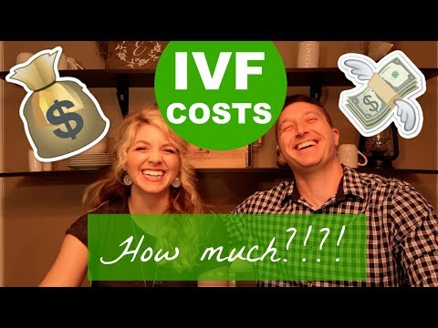 IVF Costs HOW MUCH?!   Step by step cost