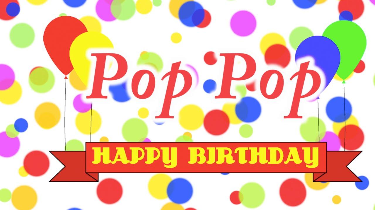 happy birthday pop Happy Birthday Pop Pop Song   YouTube happy birthday pop