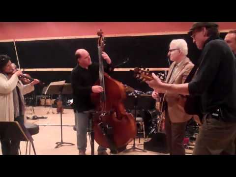 James Taylor, Steve Martin, and Andrea Zonn:  Rehearsals for James Taylor at Carnegie Hall