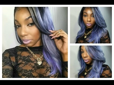 BSS Custom Lace Frontal Wig| Model Model Clean Human Hair| KennySweets