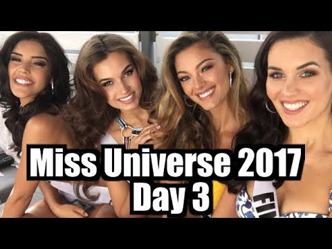 Miss Universe 2017 - Day 3 of activities