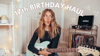 my 17th birthday haul + vlog!
