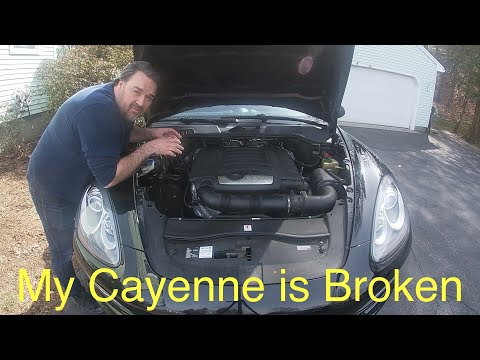 Porsche Cayenne V6 958 92A PCV Valve Replacement How To