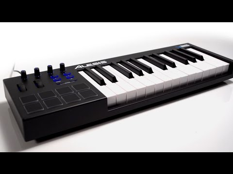 alesis v25 clavier ma tre usb midi 25 notes la boite noire youtube. Black Bedroom Furniture Sets. Home Design Ideas
