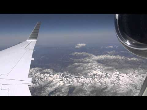 Embraer Legacy 600 Flight from Napa Valley, Ca. to Las Vegas (HD)
