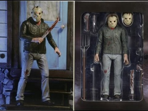 "NECA Friday the 13TH Part 3 3D Ultimate Jason Voorhees 7/"" Action Figure"