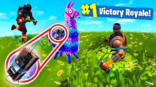 THE *SECRET* C4 LLAMA TRAP! Fortnite Battle Royale!