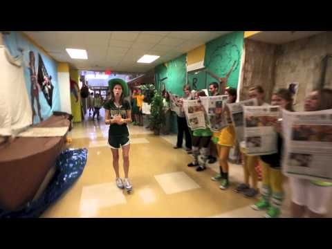 "Knoxville Catholic High School's 2013 LipDub -- ""Roar"" (1080p)"