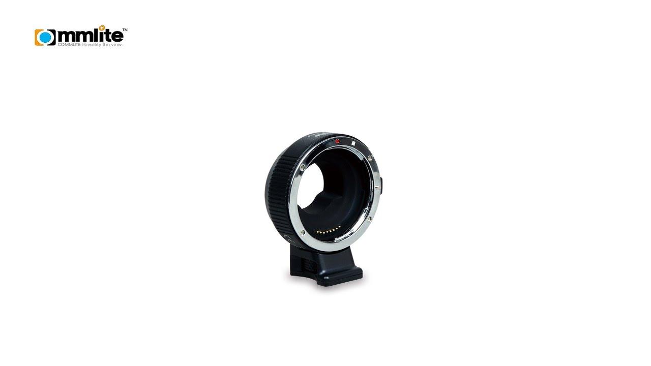 Commlite Objektivadapter für Canon-EF Objektive an MFT-Kameras - mit ...