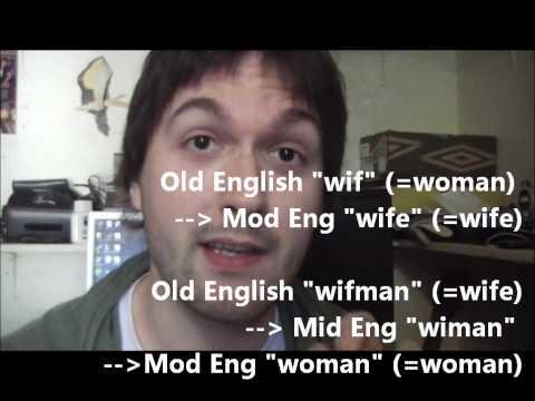 """Etymology: 2. """"Wife"""" etc."""