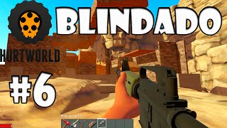Base Blindada e AK47 Matadora #6 - HurtWorld Multiplayer