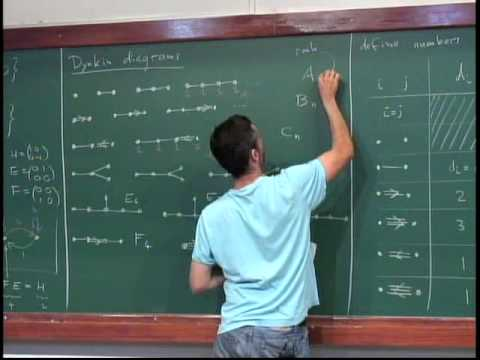 André Henriques - Lie algebras and their representations