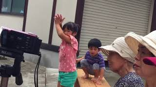 2017年8月20日秋田県横手市で行われたYOKOTE音フェス九品寺会場での演奏...
