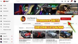 Promovare GRATIS pentru Lutu Razvan.