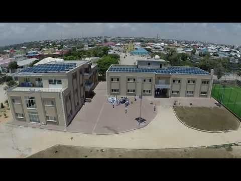 Drone Flight Over Mogadishu City, Somalia