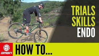 How To Endo on A Bike   Mountain Bike Skills