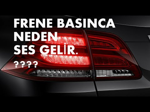 FRENE BASINCA NEDEN SES GELİR araba videosu #Otokontrol