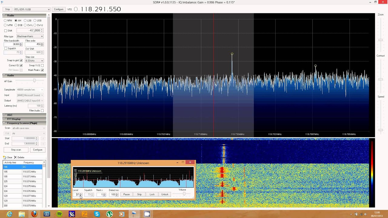 SDRSharp Scanner Plugin Tutorial and Demo « | RTLSDR com