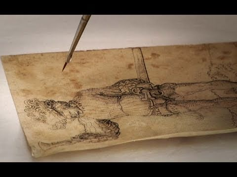 Conserving Old Master Drawings A Balancing Act Youtube