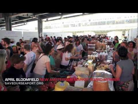 Chefs Support New Amsterdam Market