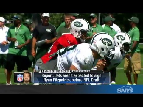 David Harris and Eric Decker talk Ryan Fitzpatrick
