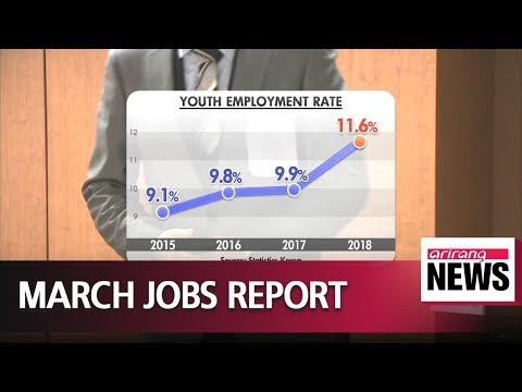 S. Korea's jobless rate hits 4.5% in March, highest figure for March in 17 years