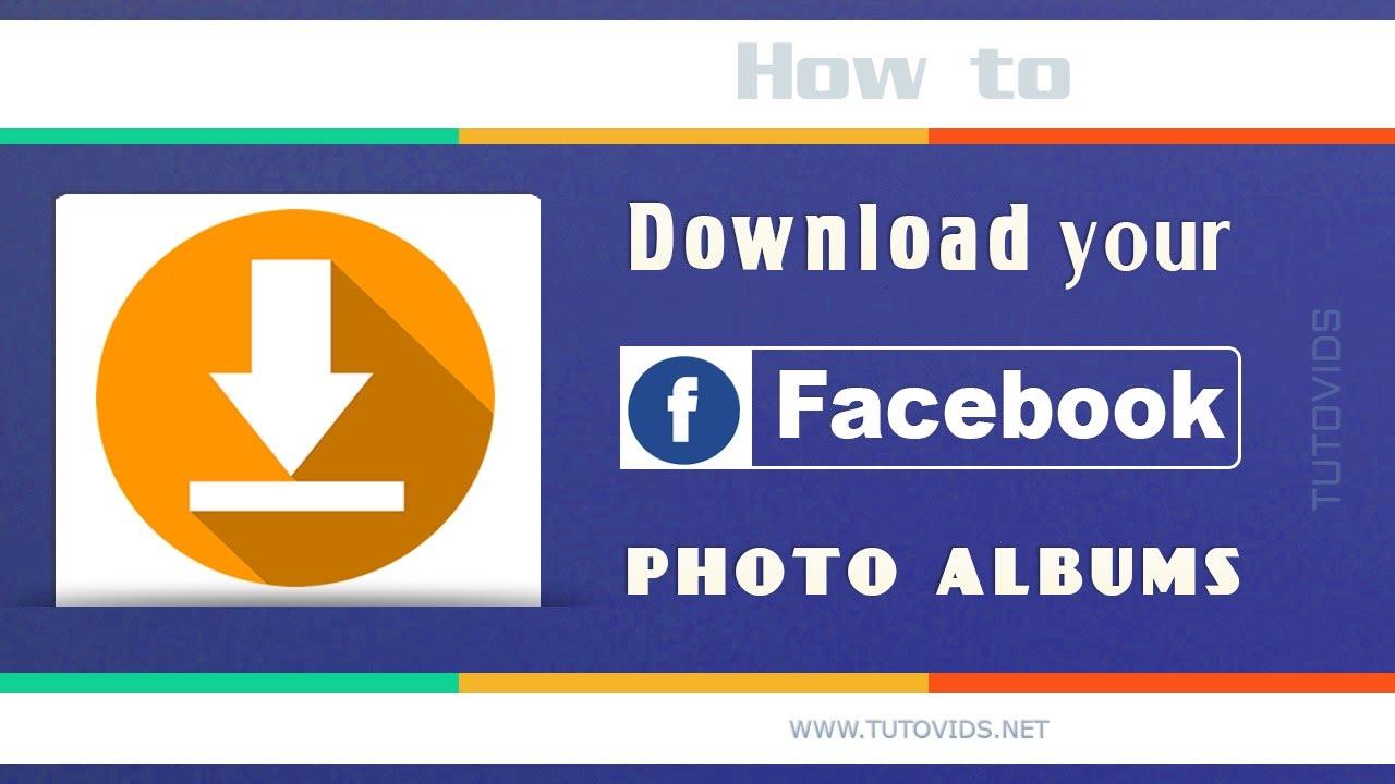 how to make facebook photo album