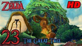 Zelda Skyward Sword HD 60FPS 100% Walkthrough - Part 23 - The Great Tree | Kikwi Hermit