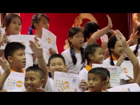 Wat Sommanas School event - World Population Day 2014 (2:06 mins)