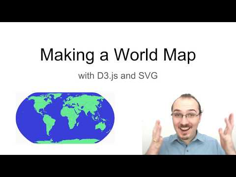 Making A World Map With D3