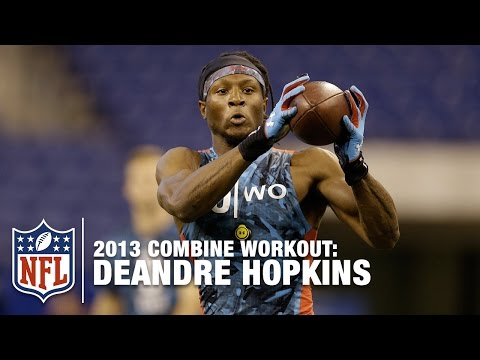 DeAndre Hopkins (Clemson, WR) |  2013 NFL Combine Workout Highlights
