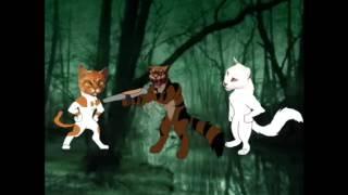 Прикол коты воители битва за лес